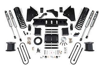 "BDS   4""  4-Link Kit  - 2013-2018 Ram 3500 w/ Rear Air (Diesel)  (6-Bolt)   (1647H)"
