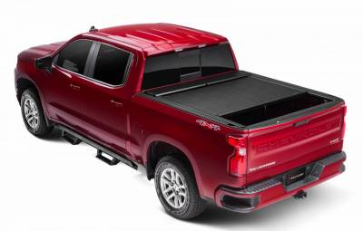 Roll-N-Lock M-Series Retractable  Bed Cover   2014-2018 Silverado/Sierra 1500 & 2015-2019 HD  6.5' Bed  (LG221M)
