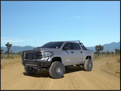Ranch Hand  Midnight Front Bumper W/ Guard - 2014+  Tundra  (MFT14HBM1)