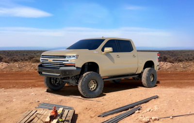 Ranch Hand  Midnight Front Bumper   2020+  Silverado  HD  (MFC201BMN)