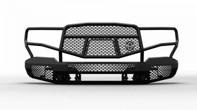 Ranch Hand  Midnight Front Bumper w/Guard   2019+  Sierra 1500  (MFG19HBM1)