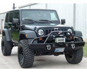Ranch Hand Jeep Sport Winch Plate (WPJ071BL1)