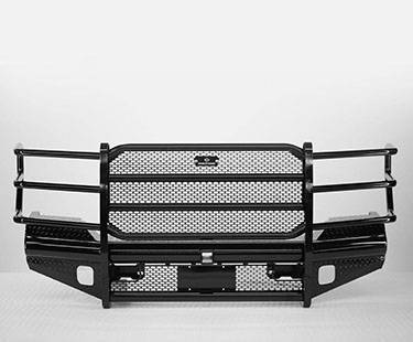 Ranch Hand Front Bumpers - Ranch Hand Legend Front Bumper - Ranch Hand - Ranch Hand Legend Front Bumper 1992-1996 F150/F250/F350 Bronco(FBF921BLR)