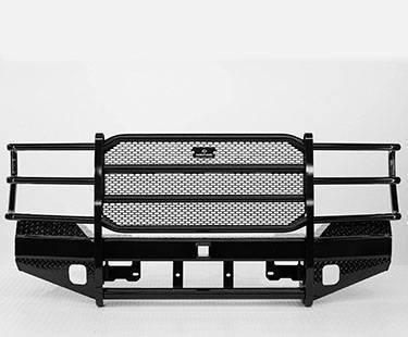 Ranch Hand Sport Front Bumper w/Winch Mount & Sensors  2010-2018 Ram 2500/3500 (FBD105BLRS)