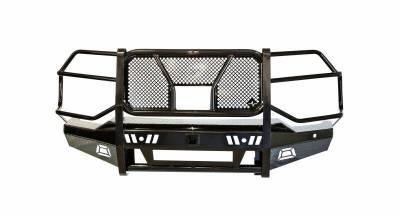 Frontier  PRO Front Bumper  w/ Camera & Light Bar Cutout  2020+  Silverado HD  (130-22-0006)