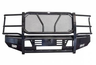 FRONTIER  PRO Front Bumper  w/ Light Bar Option - 2020 Super Duty   (130-12-0006)