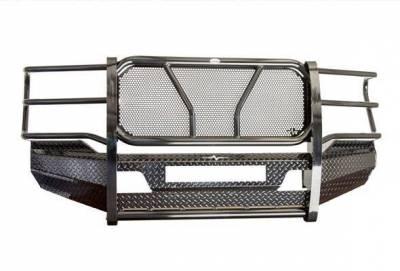 FRONTIER  Original Front Bumper w/ Light Bar Option  & Camera Cutout  - 2020 Super Duty   (300-12-0008)