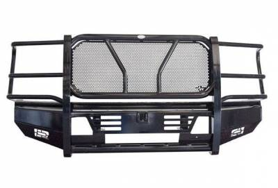FRONTIER  PRO Front Bumper  w/  Light Bar & Camera Option - 2020 Super Duty   (130-12-0008)