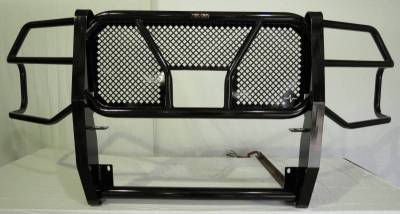 Frontier Grille Guard   w/Camera cutout - NO sensors - 2020 Chevy 2500/3500  (200-22-0007)