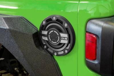 Misc. - DV8 Misc. Exterior - DV8 Offroad - DV8  Fuel Door  Jeep 2018-2021 JL  (D-JL-190004-MIL)