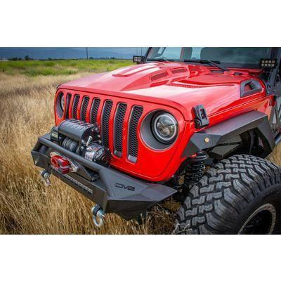 Misc. - DV8 Misc. Exterior - DV8 Offroad - DV8  Headlight Adapter w/ wiring (Allows JK Light to fit into JL)    Jeep JL  (BCABJL-01)