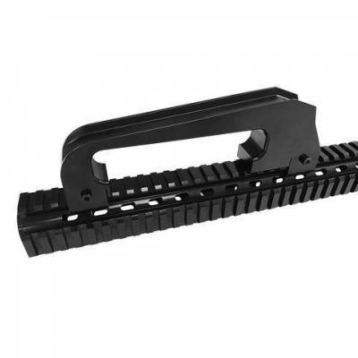 Misc. - DV8 Misc. Exterior - DV8 Offroad - DV8  M16 Styled Grab Handle For DV8 Off Road Rail Mount System  -Requires D-JL-190052-PIL  (D-JP-190058-M16)