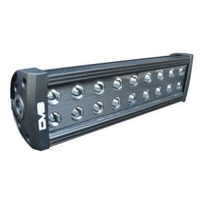 "DV8 - 12""  LED  Light Bar    72W Flood/Spot 3W Black    (BR12E72W3W)"