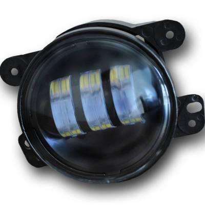 """DV8 - 4""""  LED   Replacement  Fog  Lights     Wrangler JK  (R4FL16W3W)"""