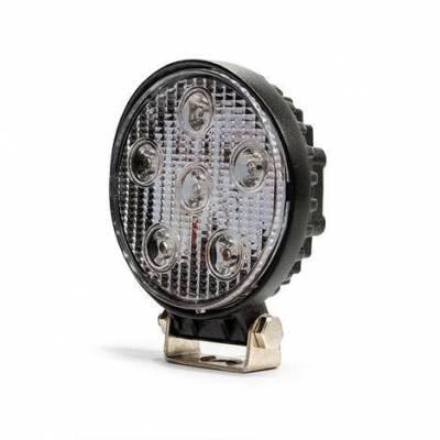 "DV8 - 5""  LED   Round   Off Road Light   18W Spot   3W   Black   (R4.3E18W3W)"