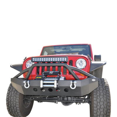 DV8 - Front Bumper 2007-2014 Wranglers (FBSHTB-06)