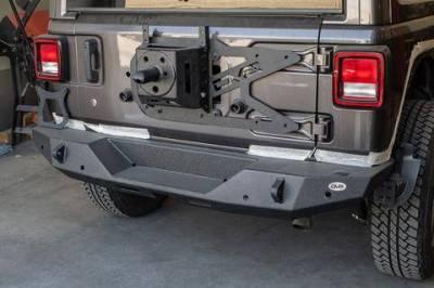 DV8 - Rear Bumper  2018+ Wrangler JL  (RBJL-06)