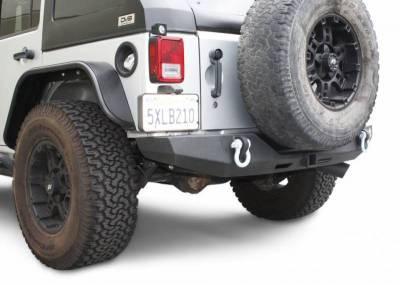 DV8 - Rear Bumper  Full Length 2007-2018  Wrangler  JK   (RBSTTB-06)