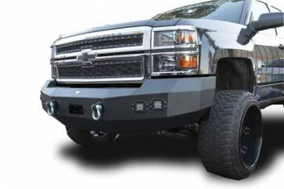 Front - DV8 Front Bumpers - DV8 Offroad - DV8 -Front  Bumper  Chevrolet Silverado 1500 2014-2015 (FBCS1-02)