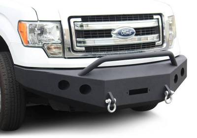 Front - DV8 Front Bumpers - DV8 Offroad - DV8 -Front  Bumper  Ford F-150   2009-2014   (FBFF1-01)