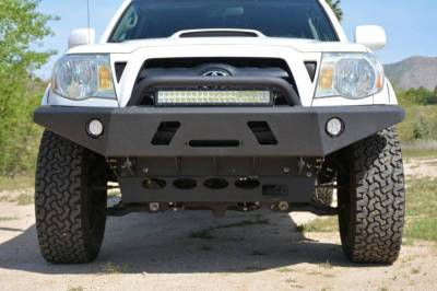 Front - DV8 Front Bumpers - DV8 Offroad - DV8 -Front  Bumper  Toyota Tacoma   2005-2015  (FBTT1-01)