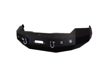 Front - DV8 Front Bumpers - DV8 Offroad - DV8 -Front  Bumper  Ram 1500  2013-2015   (FBDR1-02)