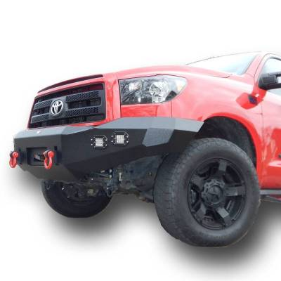 Front - DV8 Front Bumpers - DV8 Offroad - DV8 -Front  Bumper  Toyota Tundra  2007-2013   (FBTT2-02)