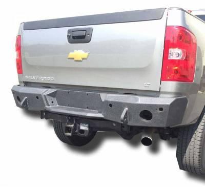 DV8 -Rear  Bumper  Chevrolet Silverado  2500 2011-2014   (RBCS2-01)