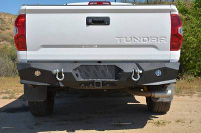 DV8 -Rear  Bumper  Toyota Tundra  2014-2017   (RBTT2-01)