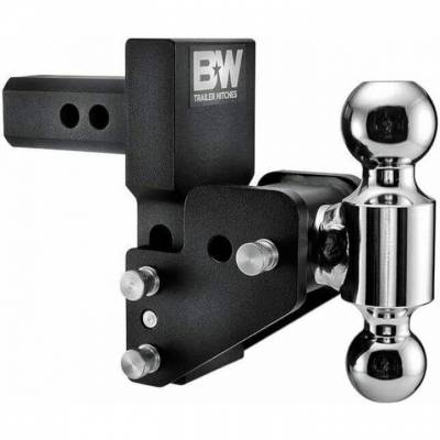 """B & W   Tow & Stow  for GM Multi-Pro Tailgate   Dual Ball  2"""" Hitch  2.5"""" Drop / 3.5"""" Rise  Black (TS10063BMP)"""