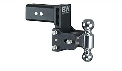 "B & W   Tow & Stow  8"" Model  Dual Ball   3"" Hitch   (Class V)  5"" Drop / 5.5"" Rise  Black  (TS30037B)"