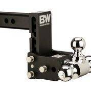 "B&W   Tow & Stow    8"" Model    Tri Ball  5"" Drop / 5.5"" Rise   Black   (TS10048B)"